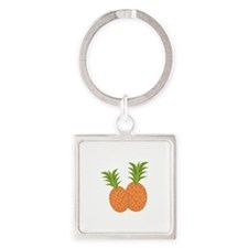 Pineapples Keychains