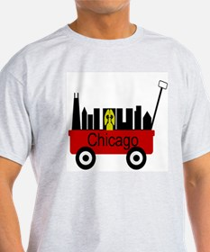 Chicago Red Wagon T-Shirt