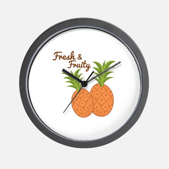 Fresh & Fruity Wall Clock