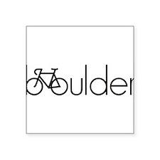 """Cute Boulder colorado Square Sticker 3"""" x 3"""""""