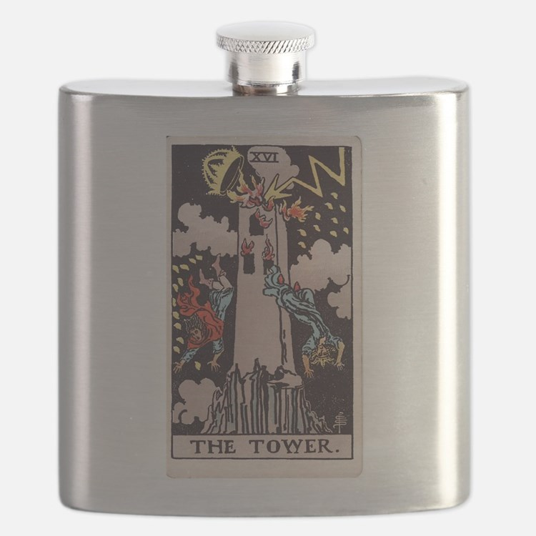 """""""The Tower"""" Flask"""