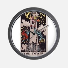 """""""The Tower"""" Wall Clock"""