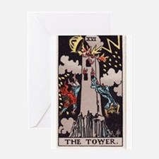 """The Tower"" Greeting Card"