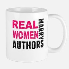 Real Women Marry Authors Mugs