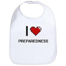 I Love Preparedness Digital Design Bib