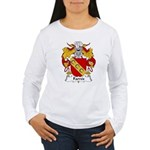 Farres Family Crest Women's Long Sleeve T-Shirt