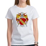 Farres Family Crest Women's T-Shirt