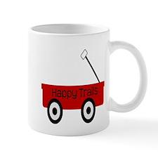 Happy Trails Red Wagon Mugs