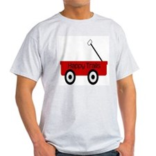 Happy Trails Red Wagon T-Shirt