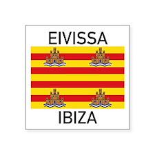 Ibiza Sticker - On White
