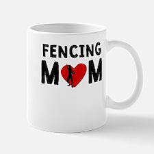 Fencing Mom Mugs