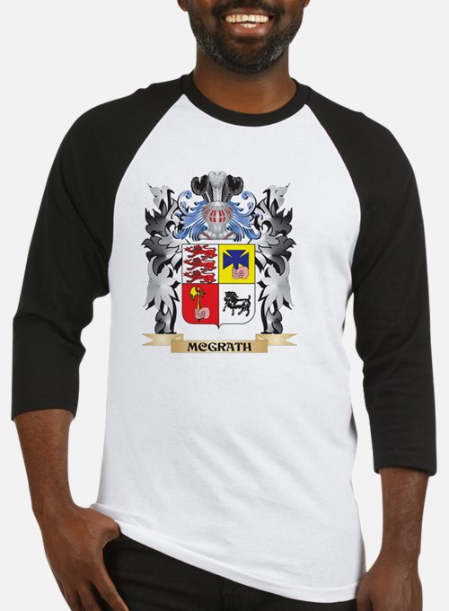 Mcgrath Coat of Arms - Family Cres Baseball Jersey