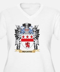 Mcgraw Coat of Arms - Family Cre Plus Size T-Shirt