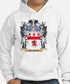 Mcgraw Coat of Arms - Family Cre Hoodie