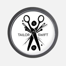 Tailor Swift Wall Clock