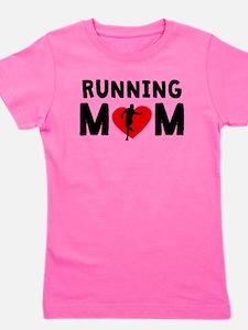 Running Mom Girl's Tee