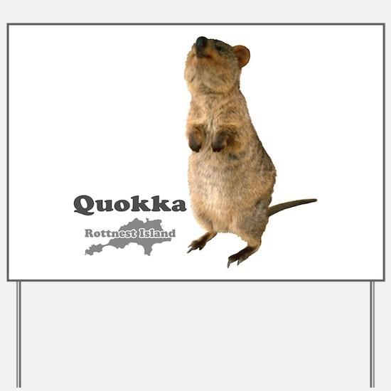 Quokka v.3 Yard Sign