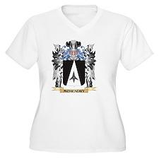 Mchendry Coat Plus Size T-Shirt