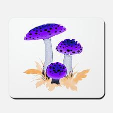 Purple Mushrooms Mousepad
