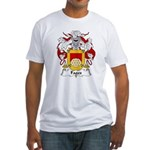 Fages Family Crest Fitted T-Shirt