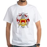 Fages Family Crest White T-Shirt