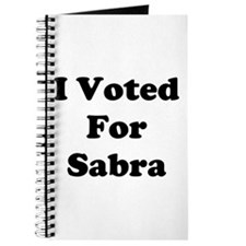 Voted for Sabra Journal
