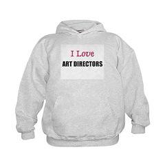 I Love ART DIRECTORS Hoodie
