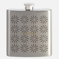 Cool Abstract Flower Flask