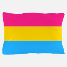 Pansexual Pride Flag Pillow Case