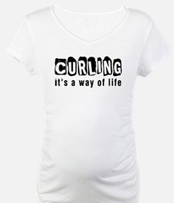 Curling it is a way of life Shirt