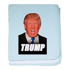 Donald Trump for President baby blanket