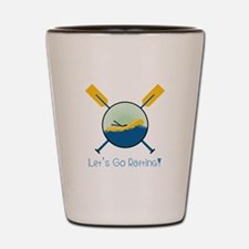 Go Rafting Shot Glass