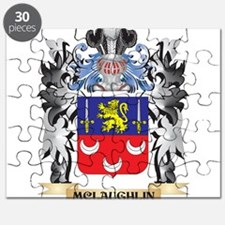 Mclaughlin Coat of Arms - Family Crest Puzzle