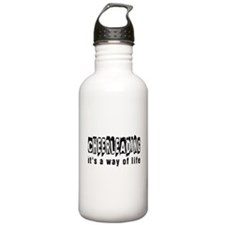 Cheerleading it is a w Water Bottle