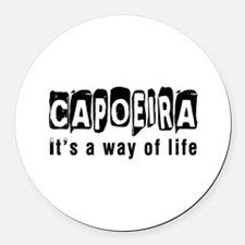 Capoeira it is a way of life Round Car Magnet