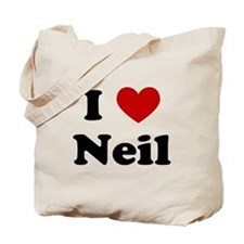I Heart Neil Tote Bag