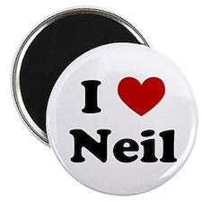 I Heart Neil Magnet