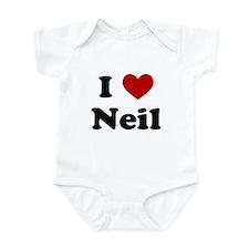 I Heart Neil Infant Bodysuit