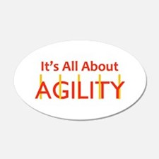 ITS ALL ABOUT AGILITY Wall Decal