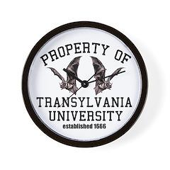 Property of Translyvania U 1 Wall Clock