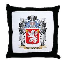 Mcnamara Coat of Arms - Family Crest Throw Pillow