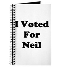 Voted For Neil Journal