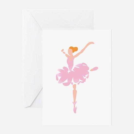 BALLERINA Greeting Cards