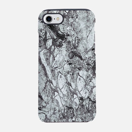 Black and White Marble iPhone 8/7 Tough Case