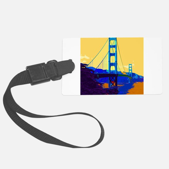 GoldenGateBridge013 Luggage Tag