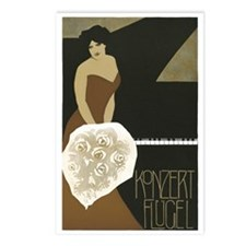 Concert Pianist Postcards (Package of 8)