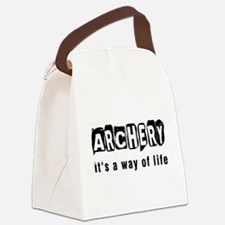 Archery it is a way of life Canvas Lunch Bag