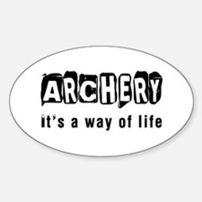 Archery it is a way of life Decal