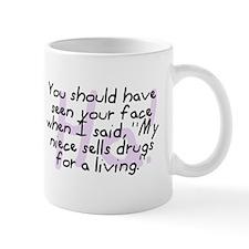 Niece Sells Drugs Mug