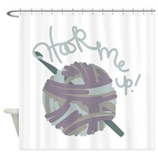 Hook Me Up Shower Curtain